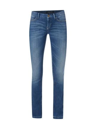 Stone Washed Boot Cut 5-Pocket-Jeans Blau / Türkis - 1