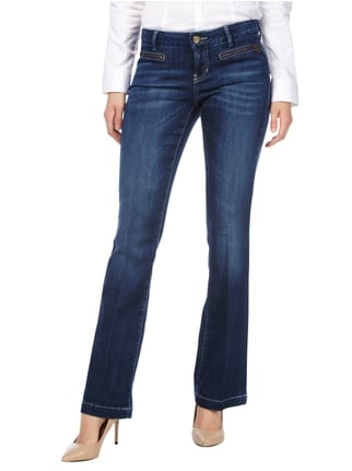 Cambio Stone Washed Flared Cut Jeans Jeans - 1