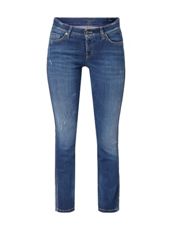 Cambio Stone Washed Modern Rise Jeans Blau / Türkis - 1