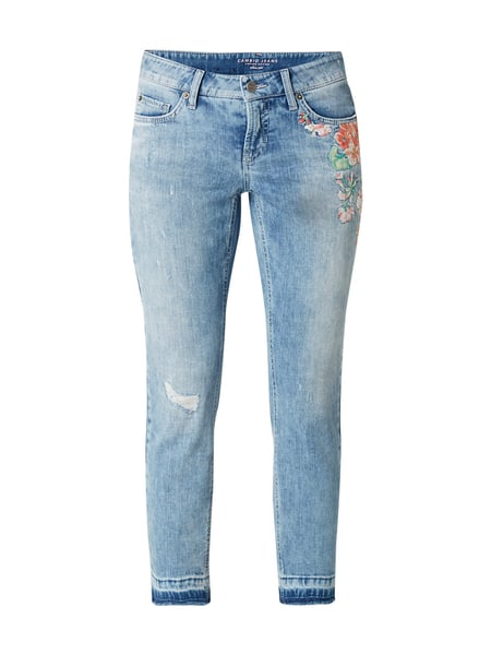 Cambio Liu - Stone Washed Skinny Fit 5-Pocket-Jeans Jeans