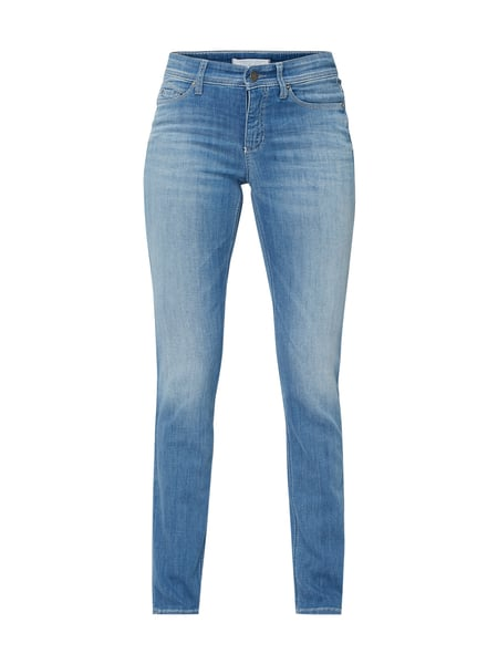 Cambio Stone Washed Slim Fit Jeans Blau - 1