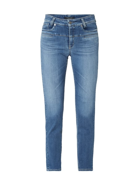 Cambio Stone Washed Slim Fit Jeans Blau / Türkis - 1