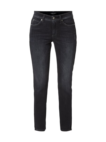 Cambio Stone Washed Slim Fit Jeans Schwarz - 1