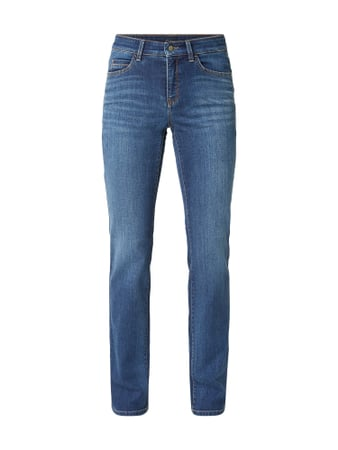 Cambio Stone Washed Straight Fit Jeans Blau / Türkis - 1