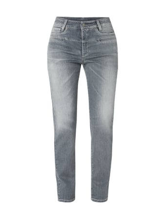 Cambio Stone Washed Tapered Fit Jeans Grau / Schwarz - 1