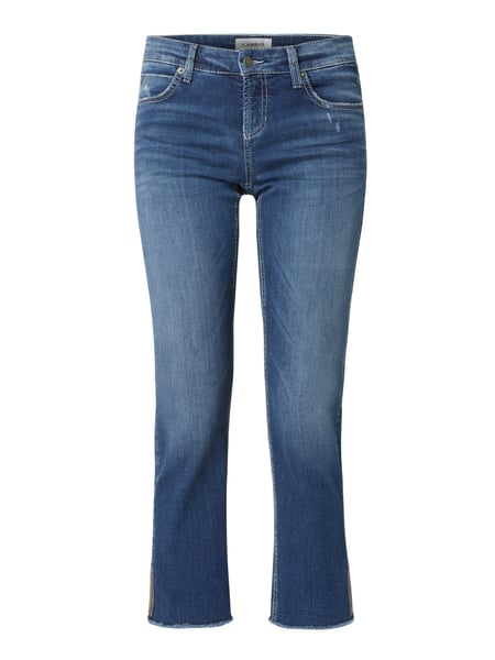 Cambio Straight Fit Jeans mit Stretch-Anteil Modell 'Tess' Blau - 1