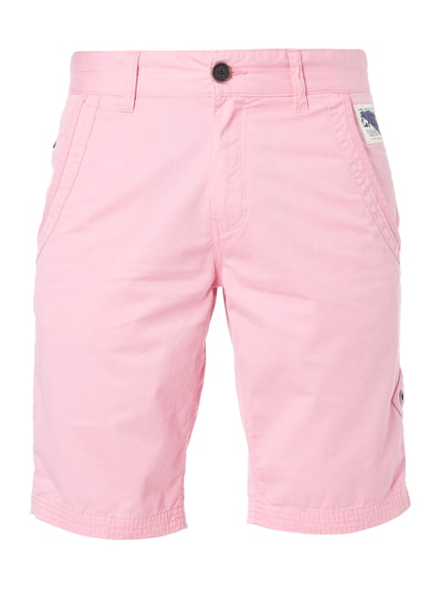 Chinoshorts im Washed Out Look Rosé - 1