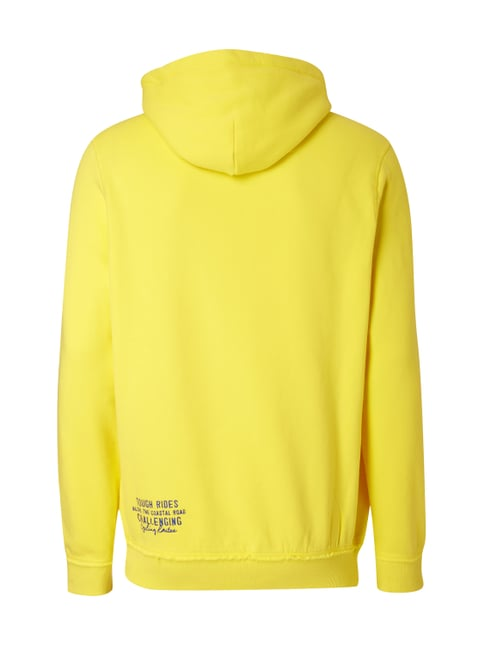 Camp David Hoodie mit Logo-Applikation Gelb - 1