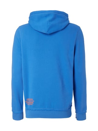 Camp David Hoodie mit Logo-Applikation Himmelblau - 1