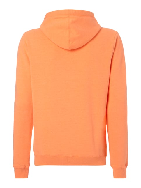 Camp David Hoodie mit Logo-Print Neon Orange - 1