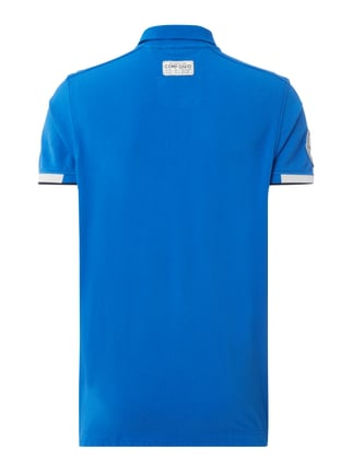Camp David Poloshirt mit Logo-Applikationen Royalblau - 1