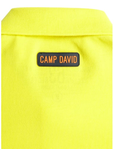 poloshirt mit logo details camp david online kaufen 2. Black Bedroom Furniture Sets. Home Design Ideas