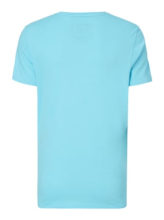 Camp David T-Shirt mit Logo-Details Aqua Blau - 1