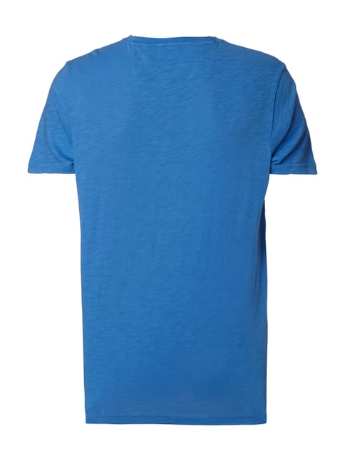 Camp David T-Shirt mit Logo-Prints Himmelblau - 1