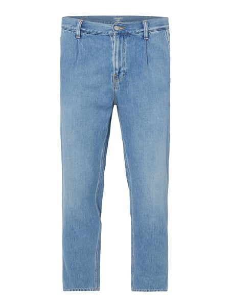 Carhartt Work In Progress Abbot Pant - Rinsed Washed Regular Tapered Fit Jeans Jeans