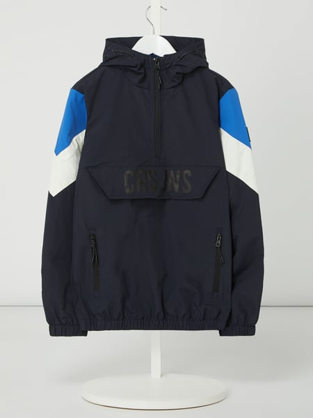 CARS JEANS Windbreaker in comfortmodel, model 'Zaino' Blauw - 1