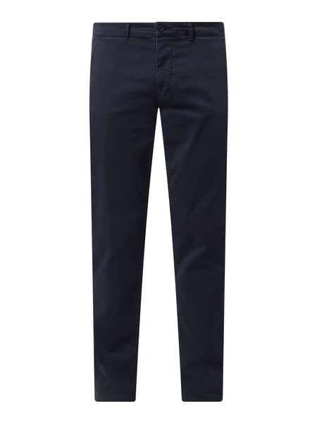 Casual Friday Chino mit Stretch-Anteil Modell 'Viggo' Blau - 1
