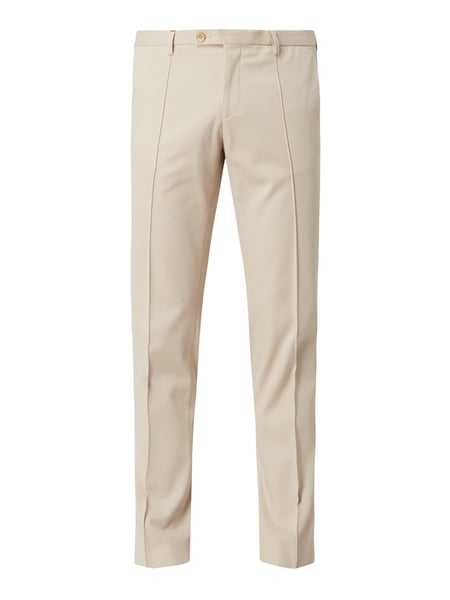 CG - Club of Gents Slim Fit Anzughose mit Stretch-Anteil - 'Savile Row' Beige - 1