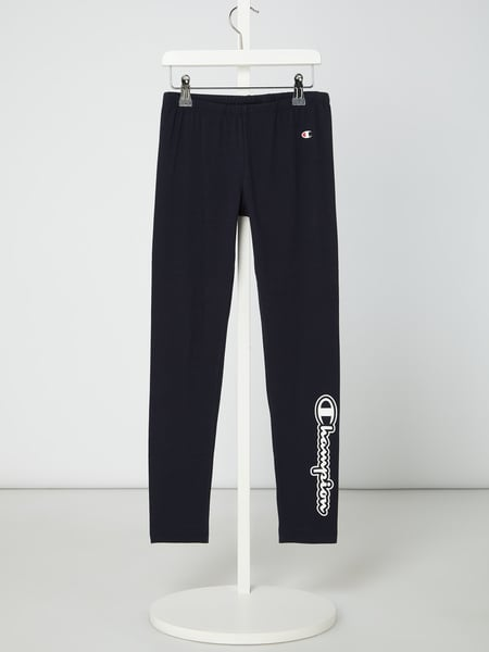CHAMPION Leggings mit Logo-Prints Schwarz - 1