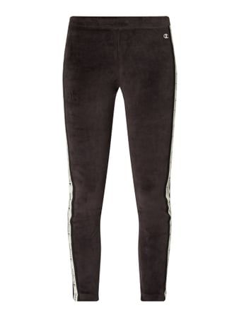 CHAMPION Skinny Fit Leggings aus Nicki Schwarz - 1