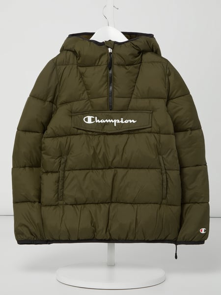CHAMPION Steppjacke in Schlupfform mit Wattierung Grün - 1