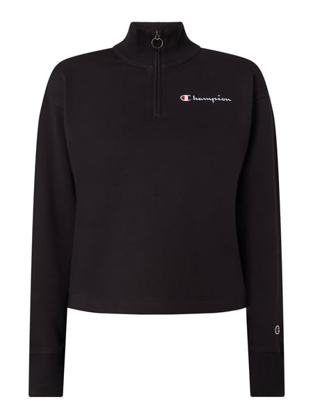 champion sweatshirt damen schwarz