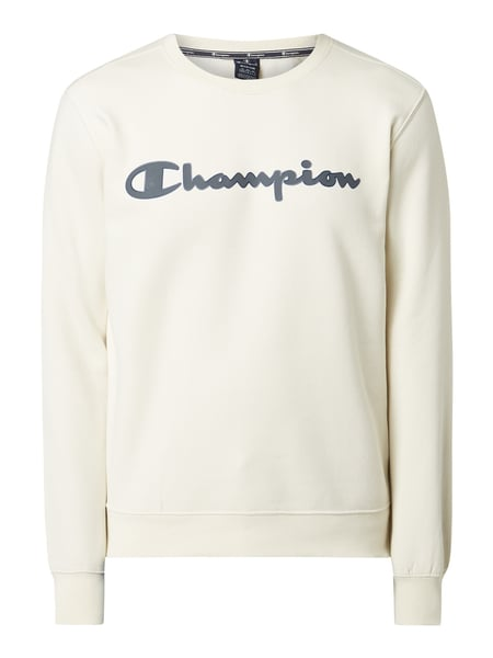 CHAMPION Sweatshirt mit Logo-Stickerei Weiß - 1