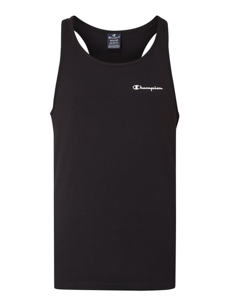 CHAMPION Tanktop mit Logo-Applikation Schwarz - 1