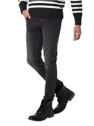 Cheap Monday Coloured Slim Fit 5-Pocket-Jeans mit Stretch-Anteil Dunkelgrau - 1