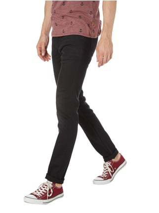 Cheap Monday Stone Washed Slim Fit Jeans Schwarz - 1