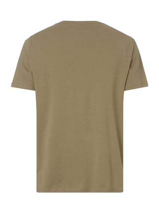 Cheap Monday T-Shirt mit Logo-Print Khaki - 1
