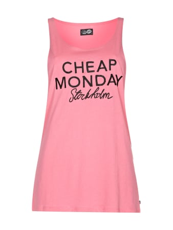 Cheap Monday Tanktop mit Logo-Stickerei Rosa - 1