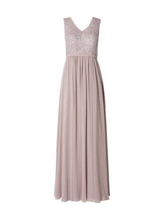 db327a8950d Christian Berg Cocktail Abendkleid mit Pailletten Rosé - 1 ...
