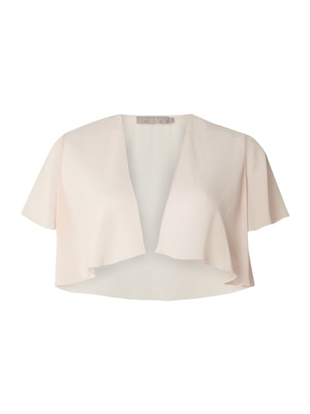 Christian Berg Cocktail Bolero aus Chiffon Rosa - 1