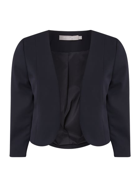 Christian Berg Cocktail Bolero aus Krepp Blau - 1