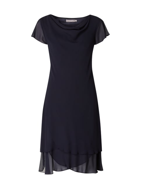 94a227b8a06 Christian Berg Cocktail Cocktailkleid im Double-Layer-Look Blau   Türkis -  1 ...