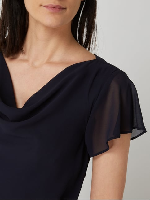 f3a63999885a16 ... Cocktailkleid im Double-Layer-Look Christian Berg Cocktail online  kaufen - 1