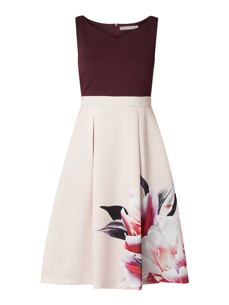 Christian Berg Cocktail Cocktailkleid mit floralem Print Lila - 1
