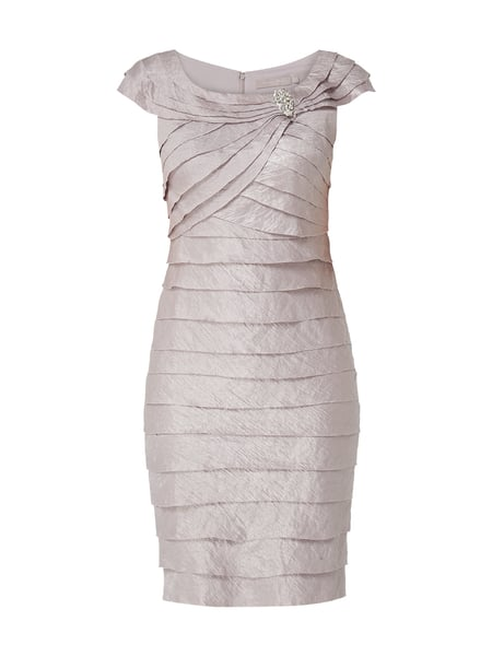 Christian Berg Cocktail Cocktailkleid mit Schmuckdetail Lila - 1