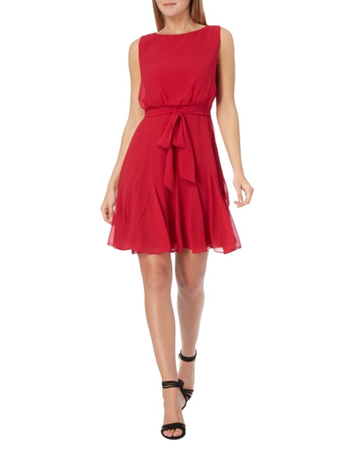 Christian Berg Cocktail Cocktailkleid mit Taillenband in Rot - 1