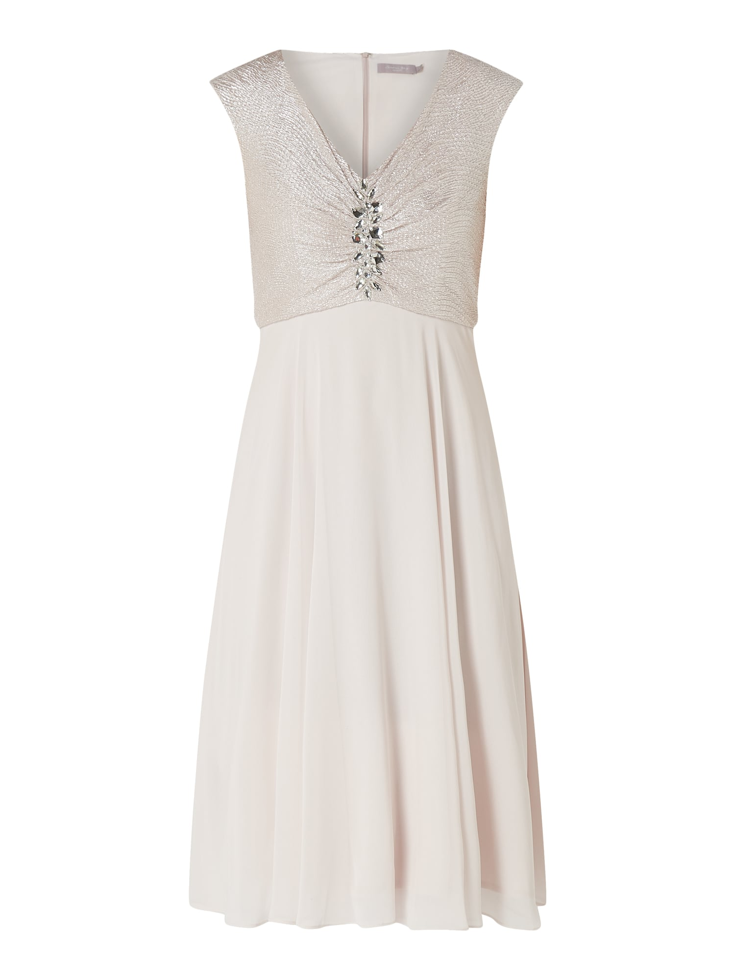 19e246666ce CHRISTIAN-BERG-COCKTAIL Cocktailkleid mit Ziersteinen in Rosé online kaufen  (9926798) ▷ P C Online Shop