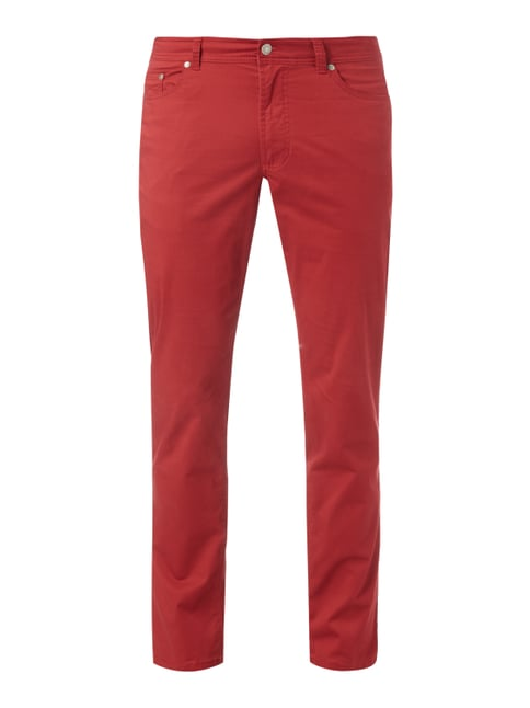 5-Pocket-Hose mit Stretch-Anteil Rot - 1