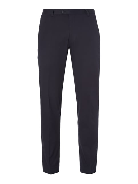 Business-Hose mit Stretch-Anteil Blau / Türkis - 1