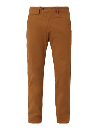 Christian Berg Men Chino mit Stretch-Anteil Gold - 1