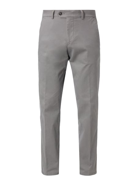 Christian Berg Men Chino mit Stretch-Anteil Stein