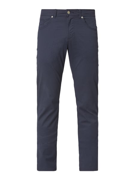 Christian Berg Men Hose mit Allover-Muster Blau / Türkis - 1