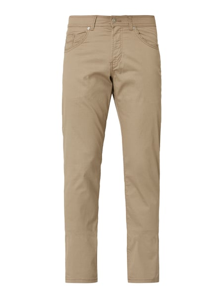 Christian Berg Men Hose mit Allover-Muster Beige - 1