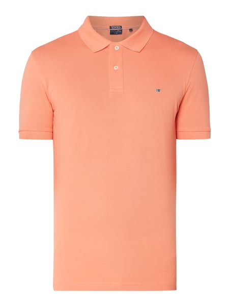 Christian Berg Men Poloshirt aus Supima®-Baumwolle Orange - 1