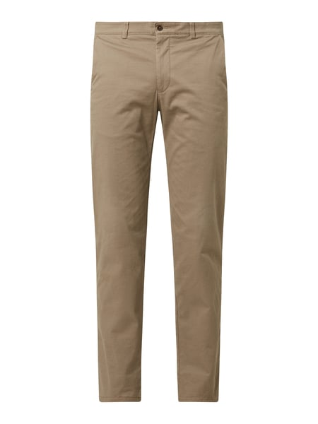 Christian Berg Men Regular Fit Chino mit Stretch-Anteil Beige - 1