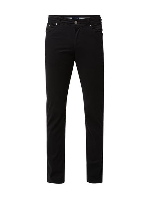 Christian Berg Men Regular Fit Hose mit Stretch-Anteil Grau   Schwarz - 1  ... d4e5515115